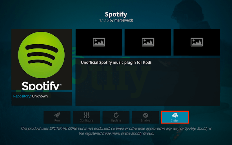 How to Install Spotify for Kodi Krypton Jarvis