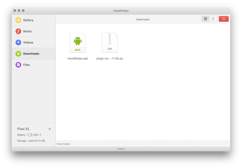 Handshaker for Android and OS X