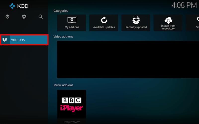 Install BBC iPlayer Kodi Jarvis & Krypton