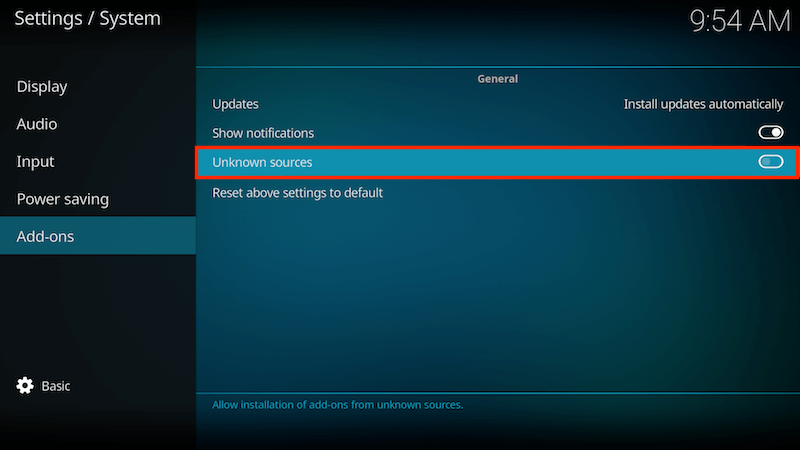how to get fusion on kodi