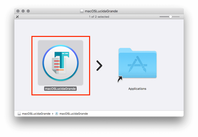 Change the MacOS High Sierra System Font to Lucida Grande