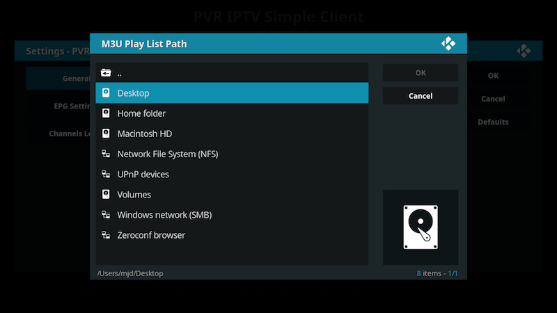 how to use pvr on kodi