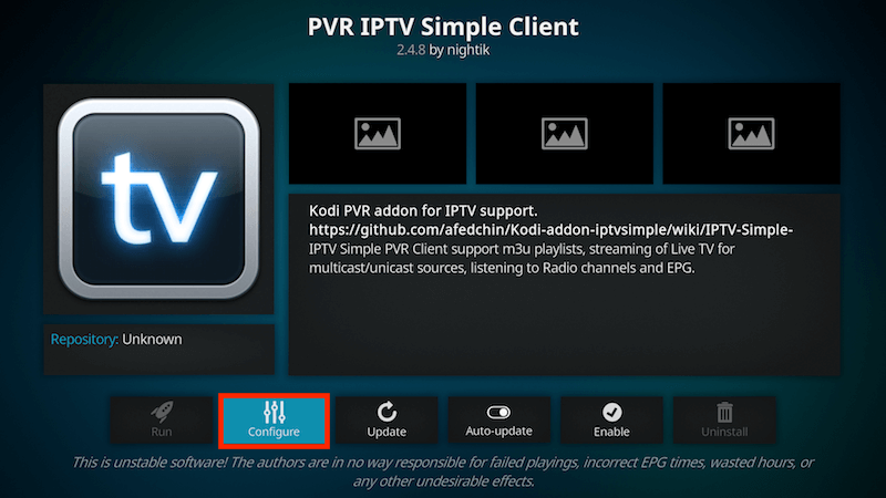 How to Setup PVR IPTV Simple Client Kodi