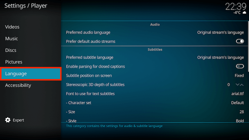 How to Add Subtitles to Kodi Addons (Jarvis / Krypton / Leia)
