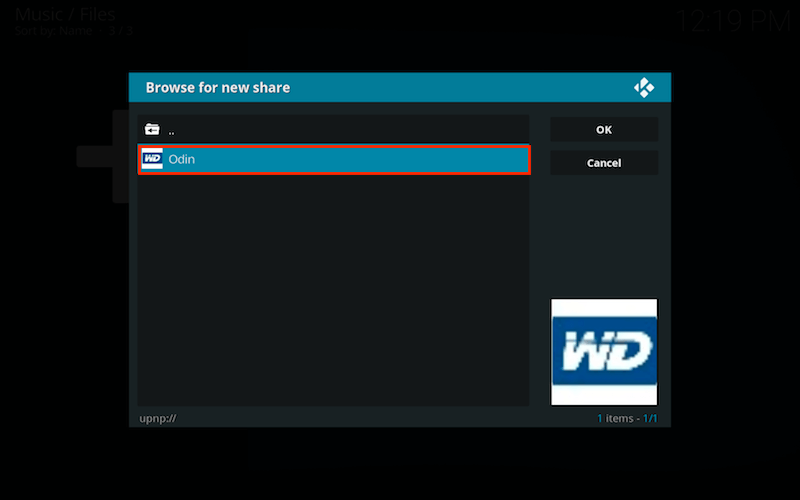 How to Use WD My Cloud as Media Server for Kodi 17+